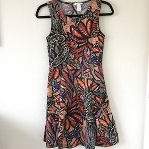 NWOT H&m tribal print dress